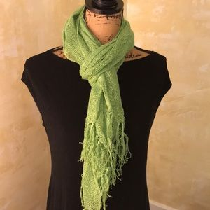 Accessories - Lime green scarf